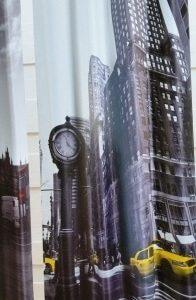 וילון דגם – ניו יורק